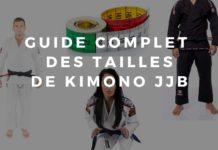 taille kimono jjb